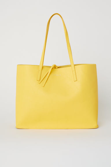 Omkeerbare shopper - Geel -  | H&M BE