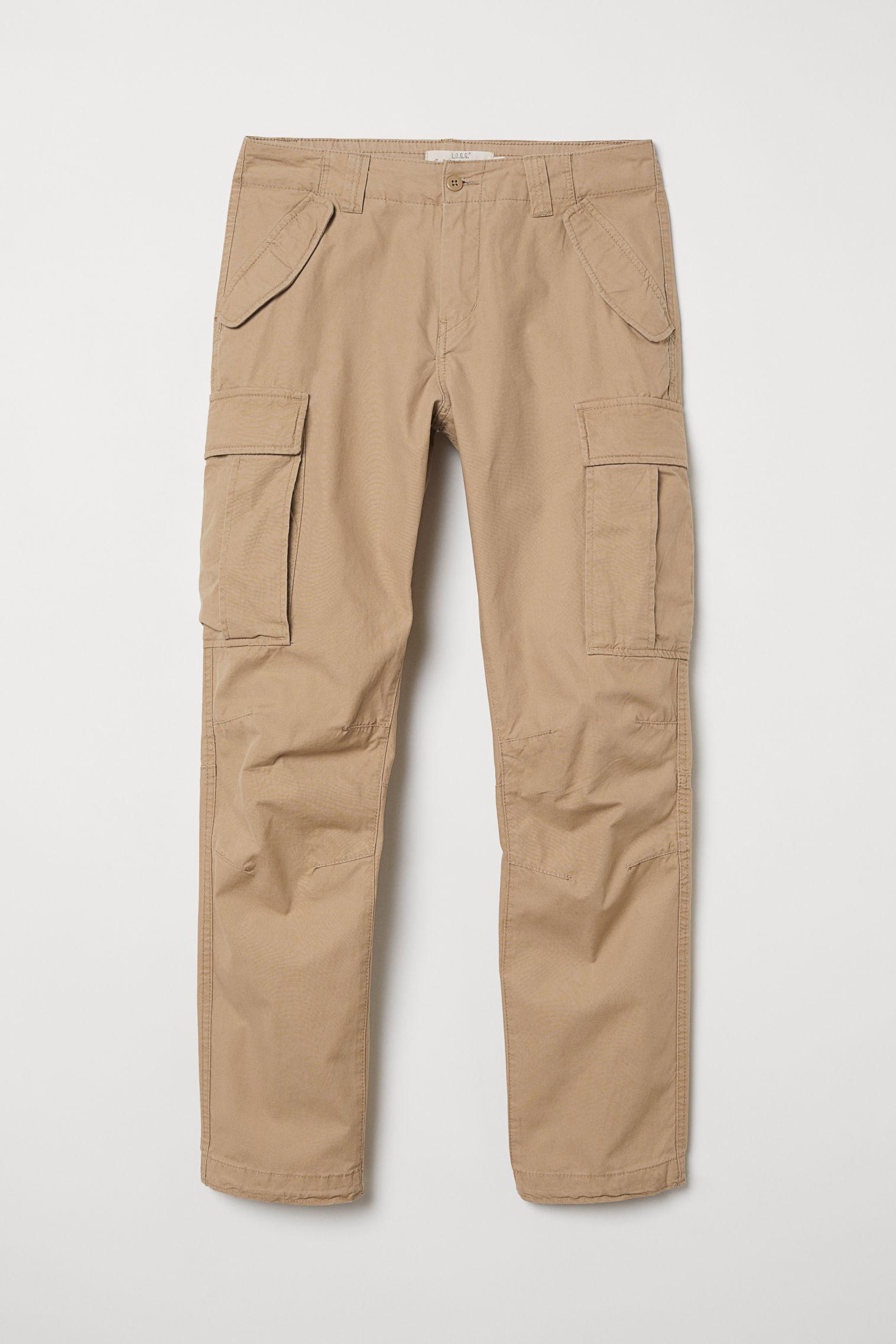 6d9517823947 Pantaloni cargo - Nero - UOMO