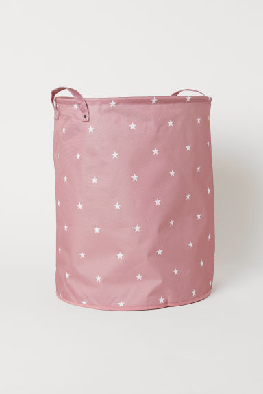 Large storage basket - Dusky pink/Stars - Home All | H&M CN