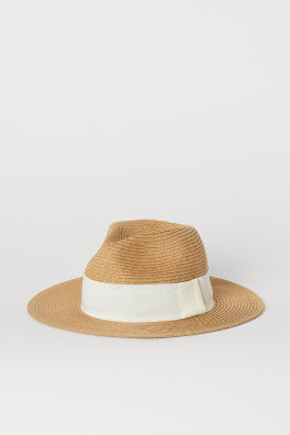 d0704381dc10d Straw Hat with Grosgrain Band