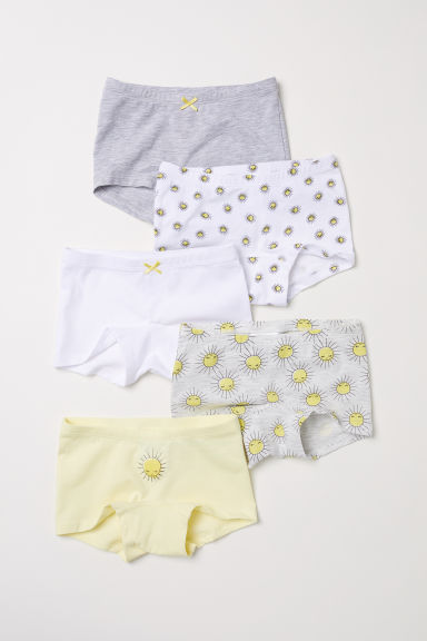 5-pack boxer briefs - Yellow/Sun - Kids | H&M