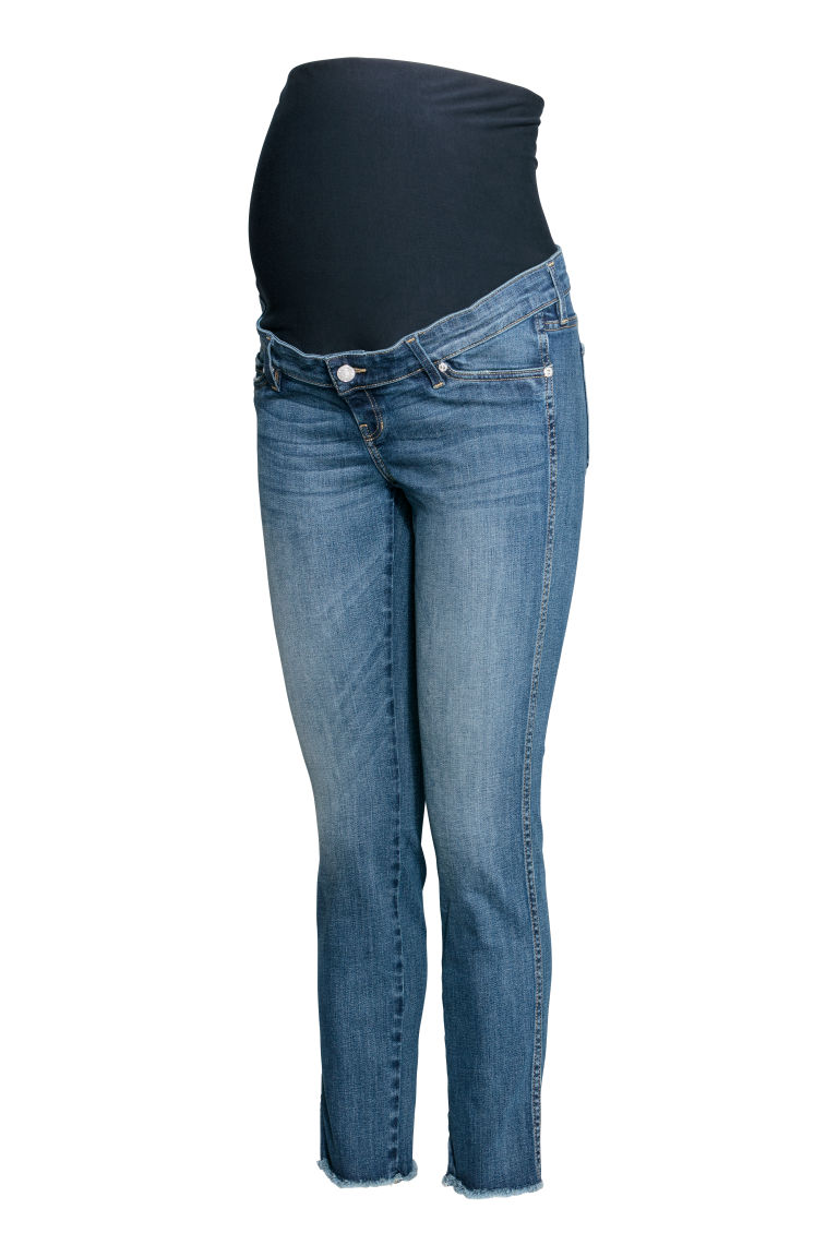 MAMA Skinny Ankle Jeans - Azul denim - MUJER | H&M ES