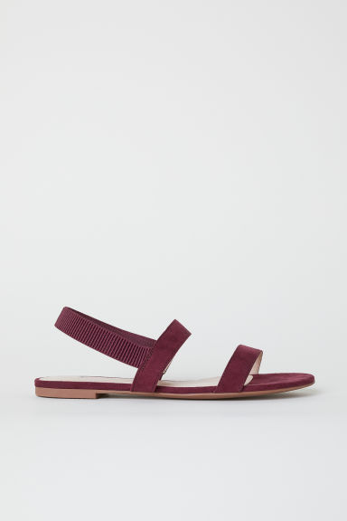 Sandali - Bordeaux - DONNA | H&M IT