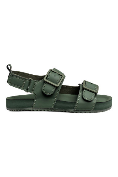 Sandals - Dark green - Kids | H&M CN