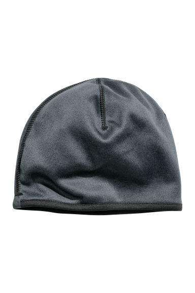 Fleece hat - Dark grey marl - Men | H&M CN