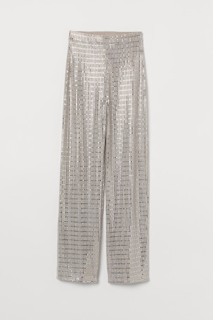 Shimmering trousers