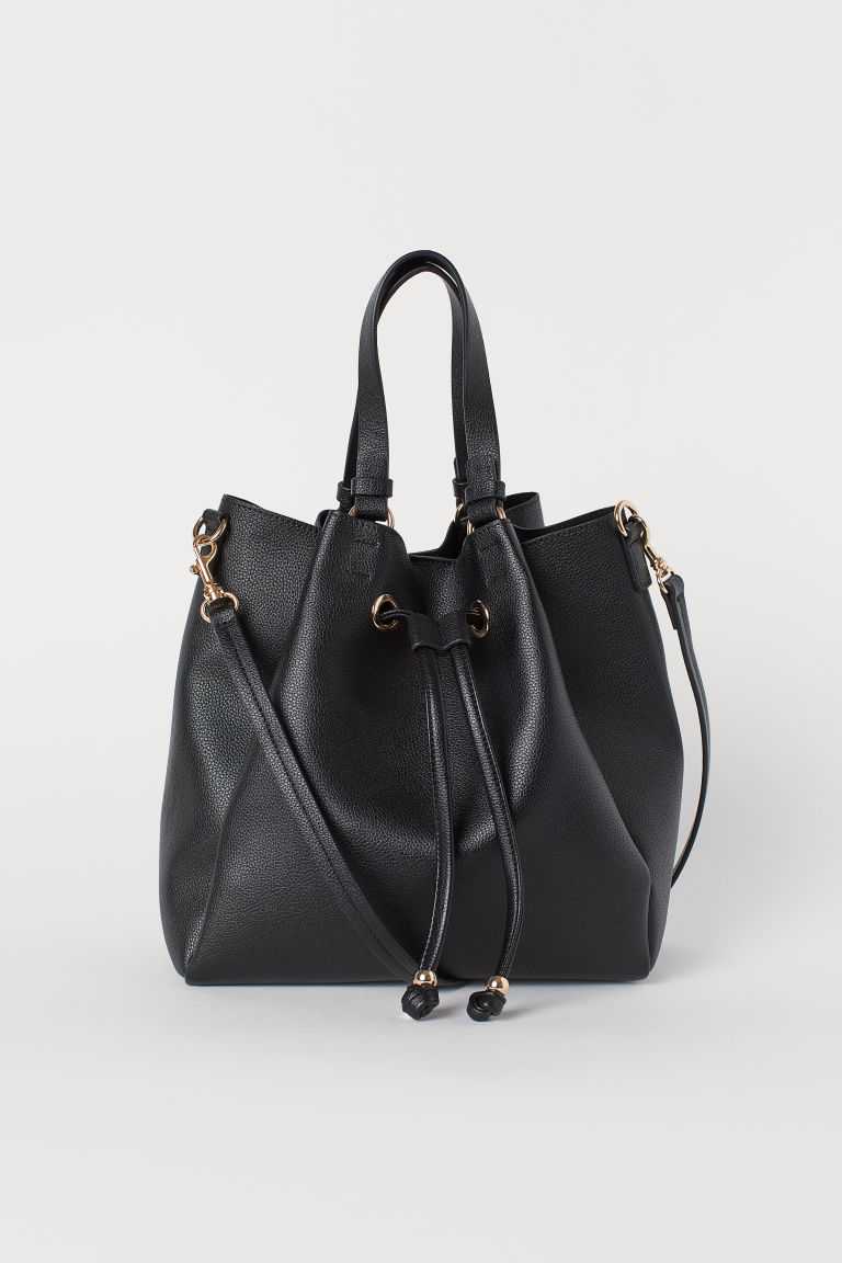 Large bucket bag - Black - Ladies | H&M