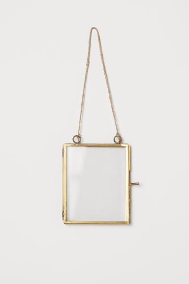 Small Metal Frame - Gold-colored - Home All | H&M CA