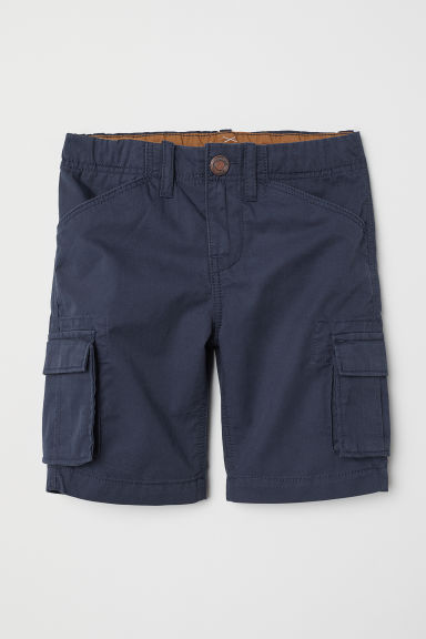 Cargo shorts - Dark blue - Kids | H&M