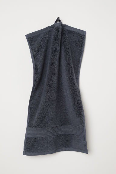 Cotton guest towel - Grey - Home All | H&M IE