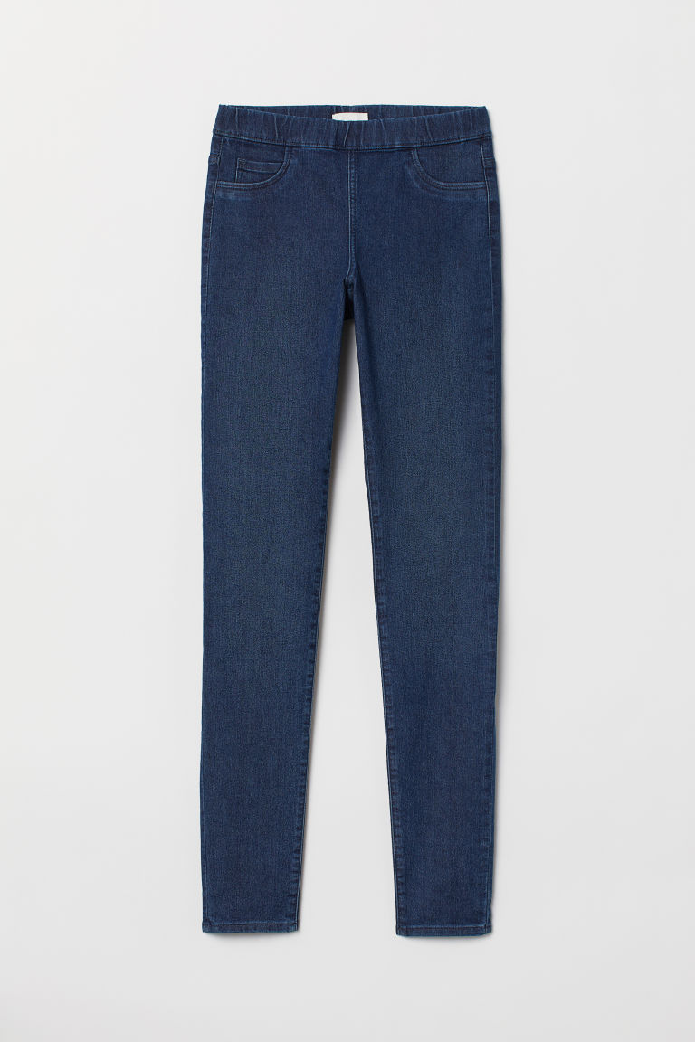 Superstretch treggings - Denim blue - Ladies | H&M