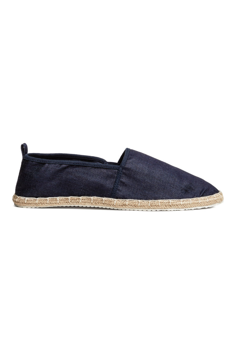 Espadrilles - Dark blue - Men | H&M