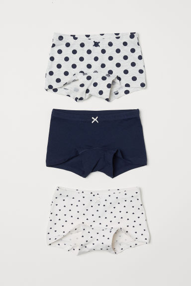 3-pack boxer briefs - White/Hearts -  | H&M CN