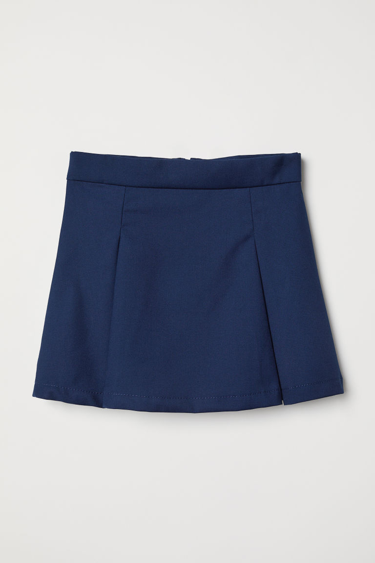 Gonna plissettata - Blu scuro - BAMBINO | H&M IT