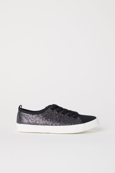 Glittery trainers - Black - Kids | H&M