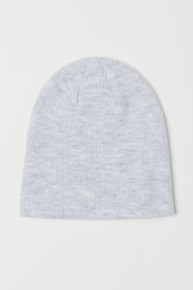 Knitted hat - Light grey marl - Ladies | H&M