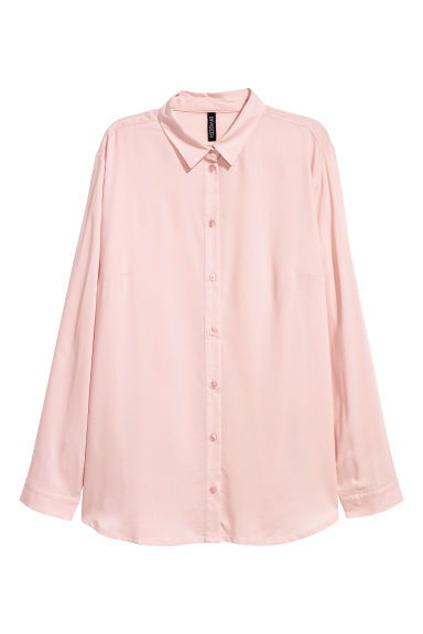 Viscose Shirt - Antique rose -  | H&M US