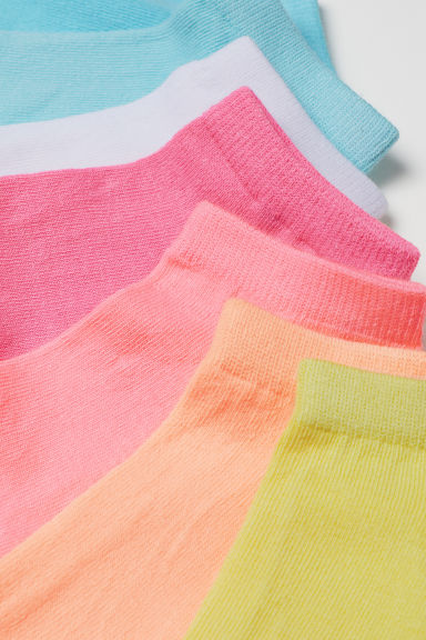 7-pack trainer socks - Yellow - Kids | H&M CN