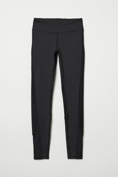 Running tights - Black - Ladies | H&M