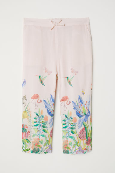 Pull-on trousers - Light pink - Kids | H&M CN