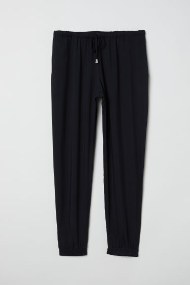 H&M+ Pull-on trousers - Black - Ladies | H&M CN
