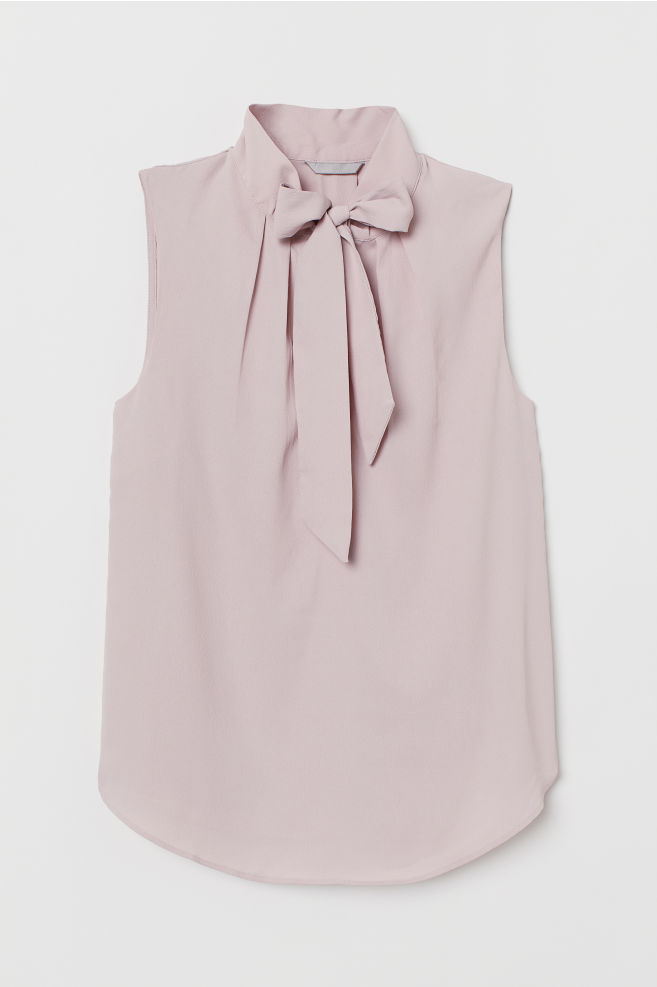 cc2814c519b8d6 Crêped Blouse - Vintage pink - Ladies | H&M ...