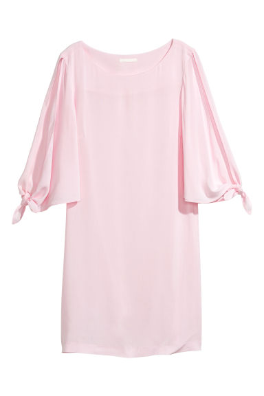 Short dress - Light pink -  | H&M CN