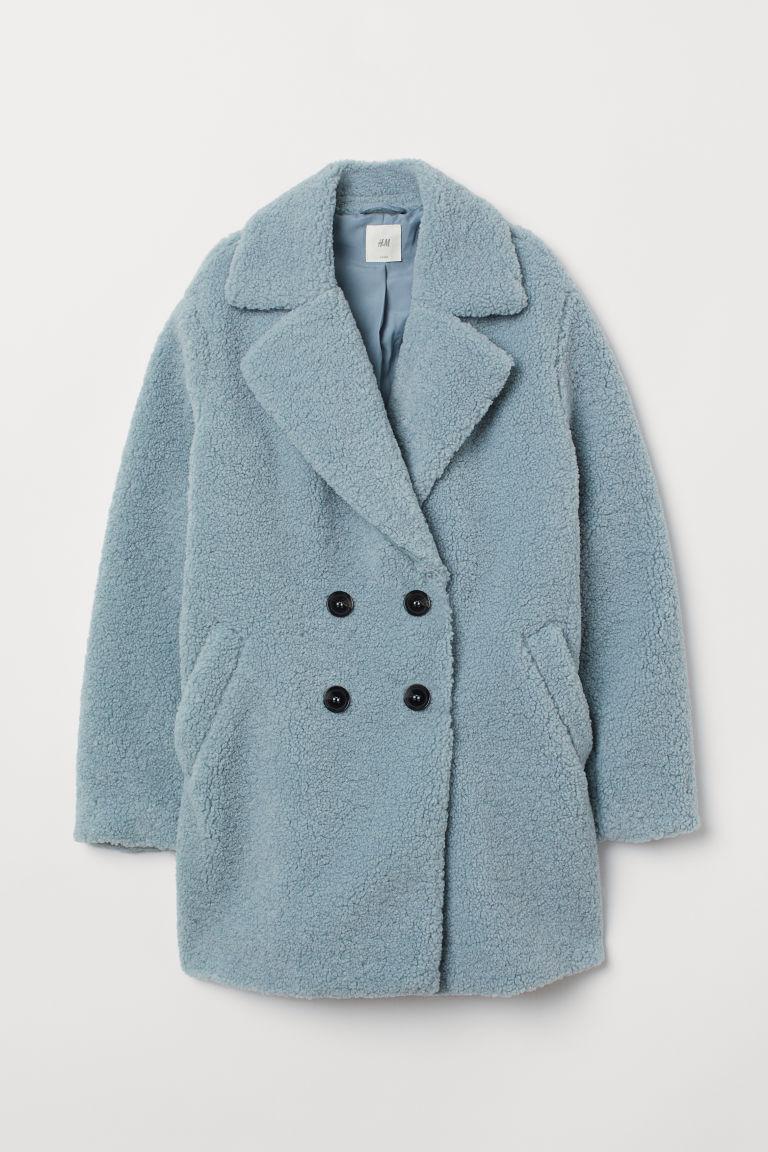 low priced bf63c 379be Cappotto in pelliccia di pile