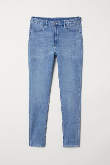 H&M+ Skinny High Jeans - Licht denimblauw - DAMES | H&M BE