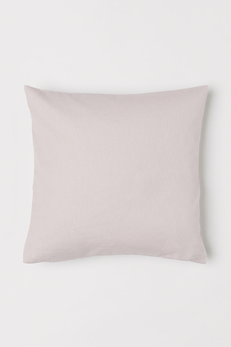 Cotton Canvas Cushion Cover - Pink - Home All | H&M CA