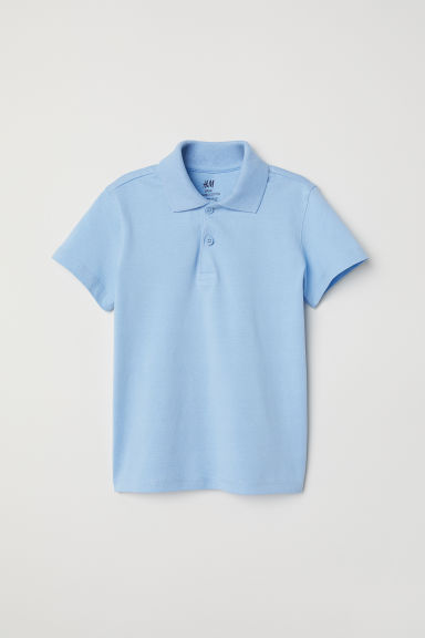 Polo shirt - Light blue -  | H&M
