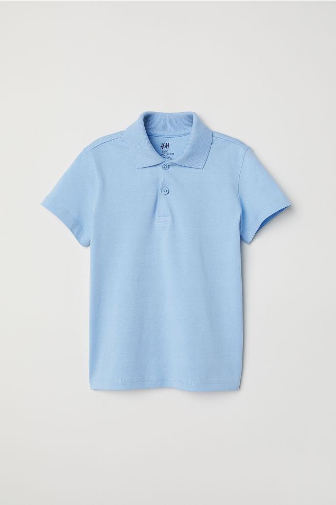 0cb33af5a Polo shirt - Light blue - Kids