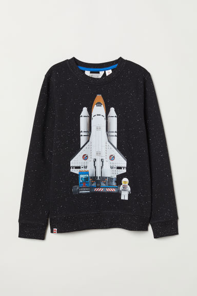 Felpa con motivo - Nero/Lego -  | H&M IT