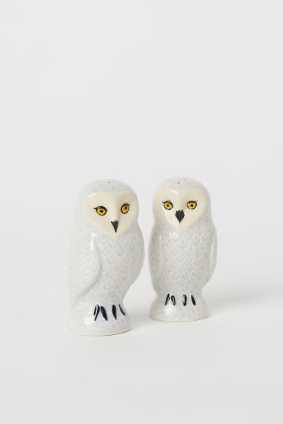 H&M - Ceramic salt and pepper set - 1