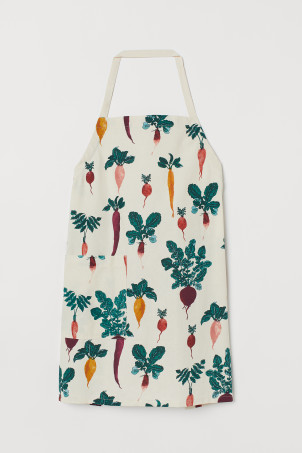 Patterned Apron