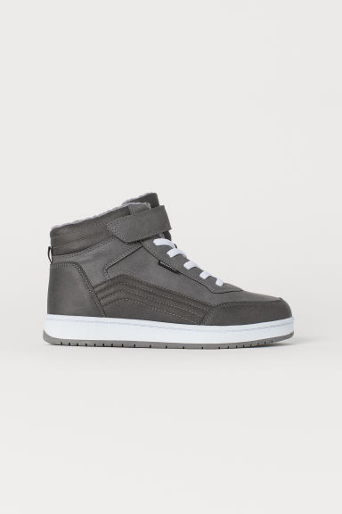 Waterproof hi-tops - Dark grey - Kids | H&M