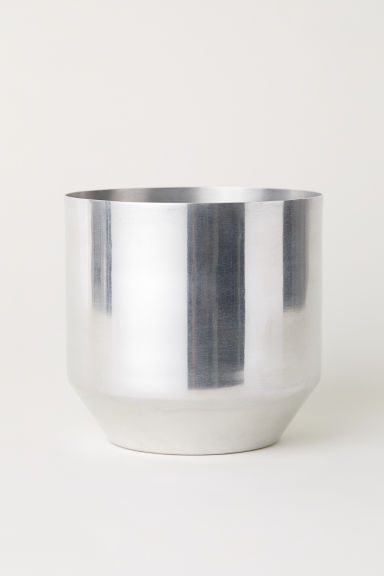 Kruka i metall - Silver - Home All | H&M SE