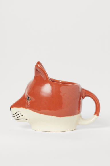 Tasse en céramique - Rouge rouille/renard - Home All | H&M FR