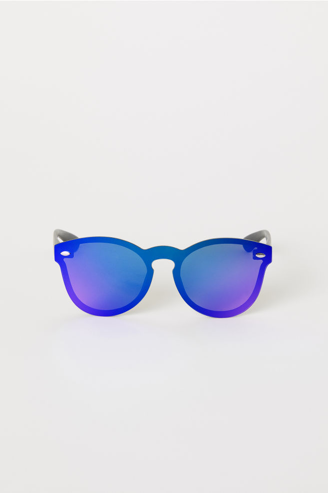 4bb234ca4367 Mirrored Sunglasses - Black - Men