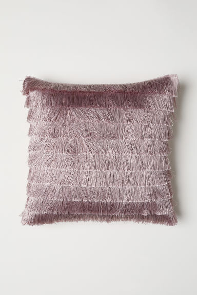 Cushion Cover with Fringe - Pink - Home All | H&M US