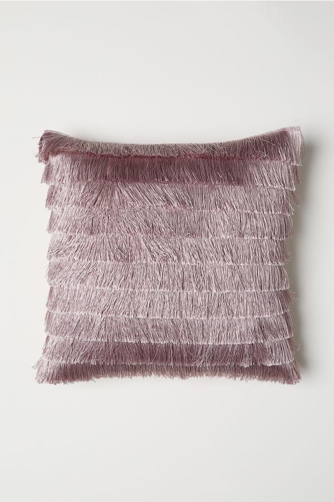 e081e888 Pudebetræk med frynsebånd - Rosa - Home All | H&M ...