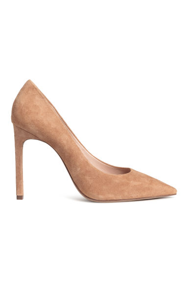 Court shoes - Camel - Ladies | H&M CN