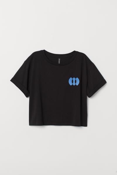 H&M - T-shirt court - 5