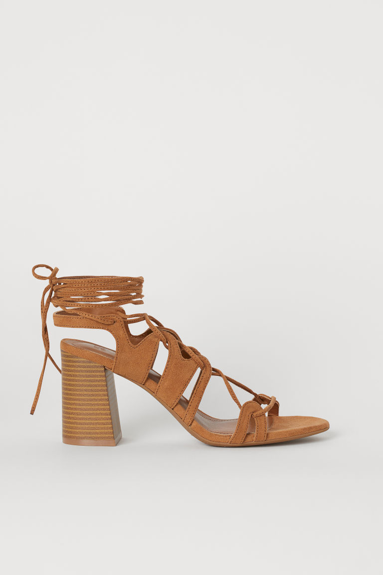Sandals - Camel - Ladies | H&M US