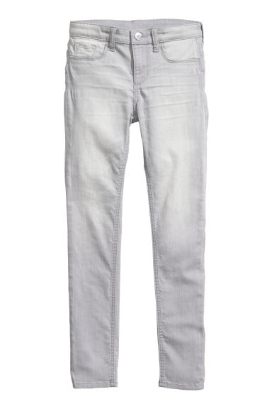 Superstretch Skinny Fit Jeans - Light grey - Kids | H&M GB