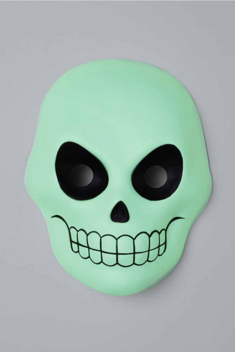 Verkleedmasker - Beenwit/glow-in-the-dark - KINDEREN | H&M BE