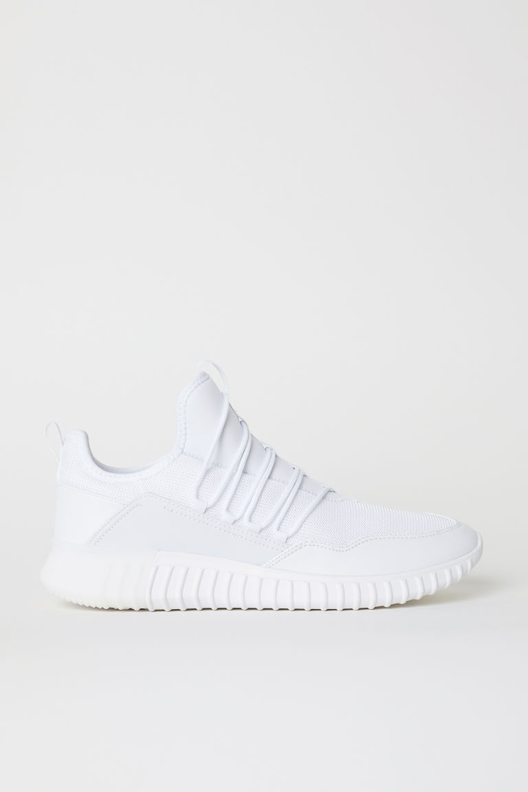 Mesh Sneakers - White - Men | H&M US