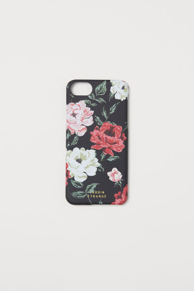 iPhone 6/8 case - Black/Floral - Ladies | H&M CN