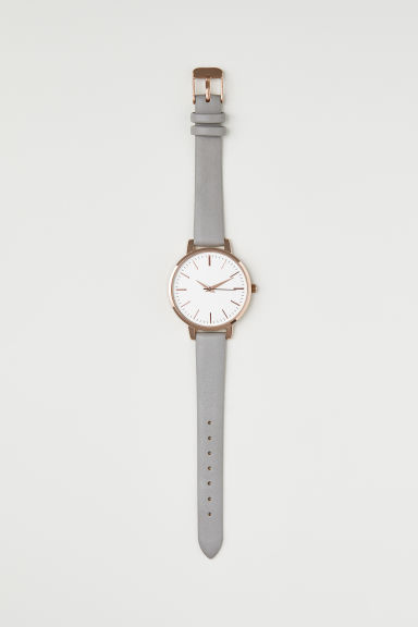 Watch - Dark grey - Ladies | H&M GB