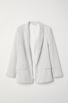 Textured-weave Jacket